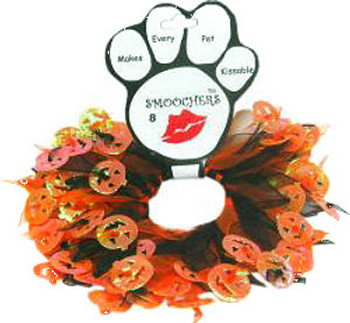 Halloween Pumpkin Dog Party Collar