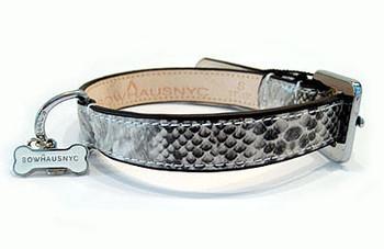 Snakeskin Dog Collar