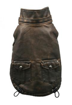 Vintage Bomber Dog Jacket by Hip Doggie