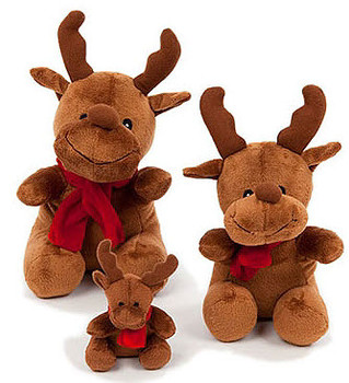Holiday Reindeer Dog Toy