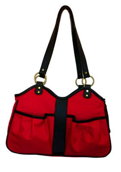 Metro 2 Red Pet Dog Carrier by Petote