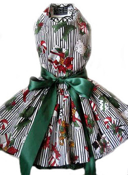 Christmas Harness Dog Dress - Christmas Under the Tree