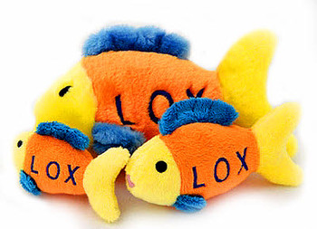 Dog Toy - Lox the Fish