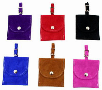 Dog Suede Treat Pouch