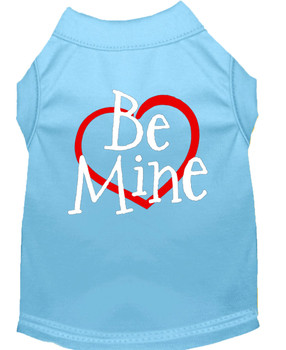 Be Mine Screen Printed Dog Tank / Shirt - 7 Colors