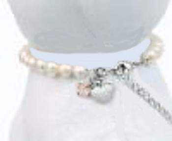 White Pearl Pet Dog Necklace