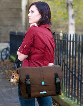 K9 Courier Bag - Brown - 3 in 1