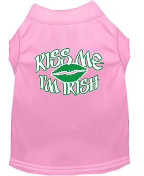 Kiss Me I'm Irish Dog Tank