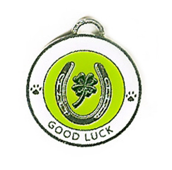 Good Luck Medallion Dog ID Tag