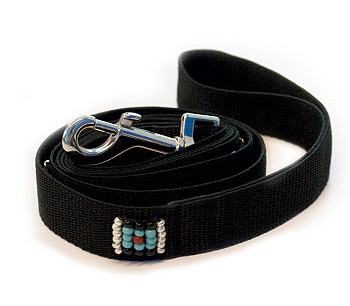 Southwestern Beaded Comanche Dog Leash