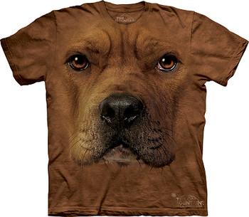 Pit Bull Dog Face T-Shirt or Nightshirt