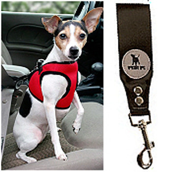 Safety Dog Harness Seat belt by Worthy Dog