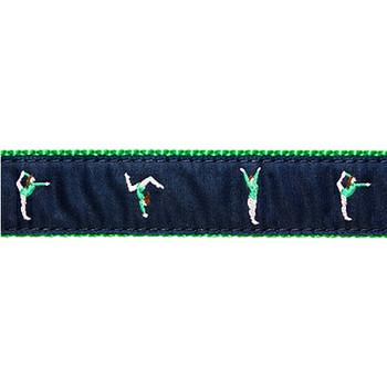 Dog Collar - Gymnast - 1 1/4