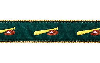 Dog Collar - Baseball - 1 1/4
