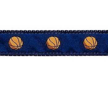 Dog Collar - Basketball - 1 1/4