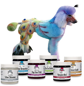 Dog Hair Dye Gel - Non Toxic - 5 Colors!
