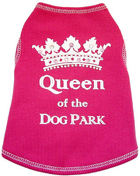 Queen of the Dog Park Tank