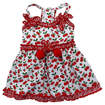 Sweet Cherries Dog Sun Dress