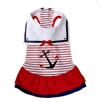 Sailor Day Dog Dress