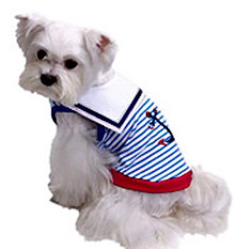 Sailor Day Dog Tank
