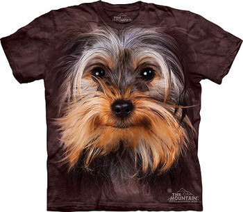 Yorkshire Terrier - Yorkie Dog Face T-Shirt or Nightshirt