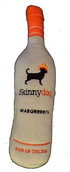 Skinnydog Margrrrrita Plush Dog Toy