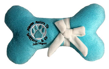 Sniffany Bone Plush Dog Toy