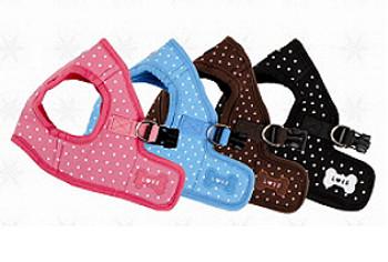 B Style Dog Harness - Dotty & Lead