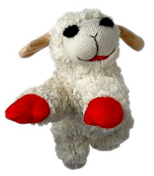 Lamb Chops Dog Toy