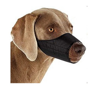 Black Nylon Dog Muzzles