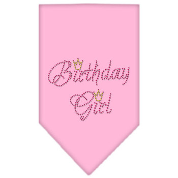 Dog Bandana - Birthday Girl Rhinestone