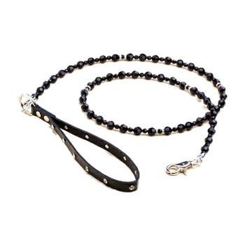 The Boutique Collection - Jet Black FabuLeash Dog Leash