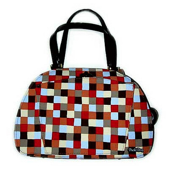 Checkers Bowling Ball Bag by PuchiBag