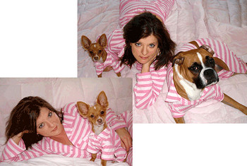 Pink Passion Doggie Pajama Set -Teacup to Big Dog