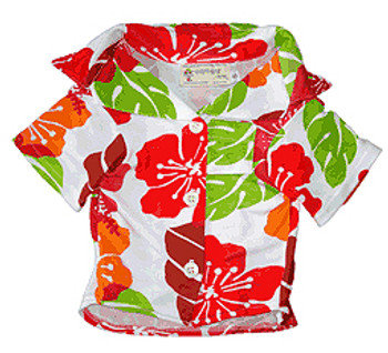Cabana Dog Shirt - Fruit Punch