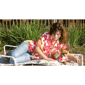 Cabana Womens Shirt - Fruit Punch, Matching Dog Available