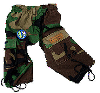 Peace Camos Dog Cargo Pants