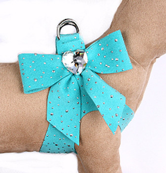 Bimini Blue Stardust Tail Bow Heart Step-In Harnesses