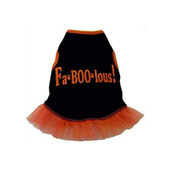 Fa-BOO-lous Dog Halloween Tank Dress