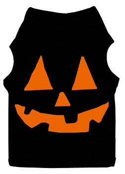 Jack O Lantern Halloween Dog Tank - Big Dog Sizes Too!