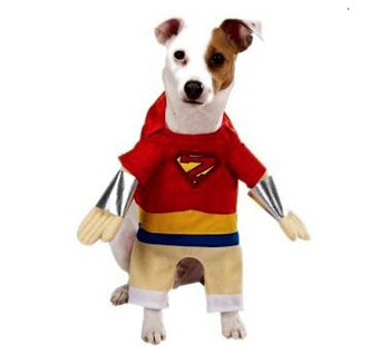 Super Hero Dog Costumes - Large Dog Sizes Only