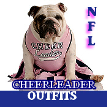 NFL Cheerleader Dog Dresses