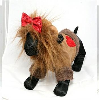 Cowardly Lion Dog Costume