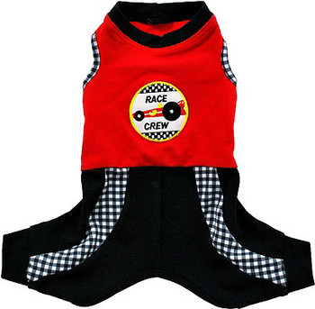 Mr. Andretti Racing Suit Dog Jumper by Ruff Ruff Couture