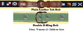 Web Human Belts and Key Rings, Men, Women & Children
