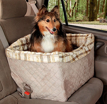 Jumbo Standard Vehicle On-Seat Pet Booster for Dogs