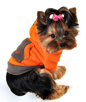 Fou-lar Fleece Dog Hoodie by Fou Fou Dog