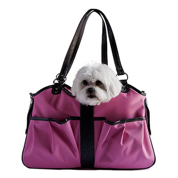 Metro 2 Pink Pet Dog Carrier by Petote