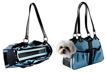 Metro 2 Turquoise Pet Dog Carrier by Petote