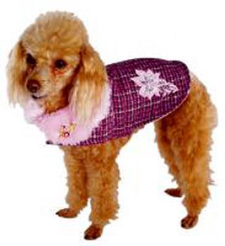 Coco Boucle Glam Dog Coat